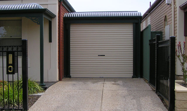 Carport and roller door 2 mount barker steel