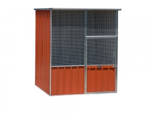 Flat-Roof-Aviaries