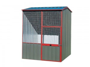 Gable-Roof-Aviaries