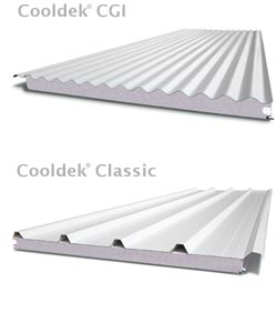 Stratco Cooldek Roofing sheets are available in two ribbed profile finishes: CGI and Classic